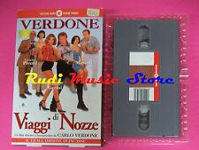 VHS film VIAGGI DI NOZZE Veronica Pivetti Claudia Gerini CECCHI GORI (F4)no dvd