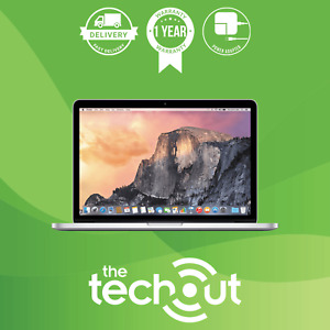 "Apple MacBook Pro i5 A1502 13.3"" 2.40 GHz 4GB 128GB SSD 2013 Silver Grade A"