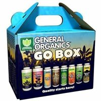General Hydroponics Organics GO BOX Starter Nutrient Kit Vegan Plant Food