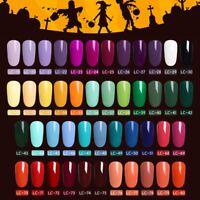 LILYCUTE Gel Halloween Party UV LED Lamp Nail Art Soak Off Gel Nail Polish 5ml