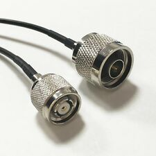 WIFI antenna adapter N type male to RP TNC male plug pigtail cable RG174 20cm