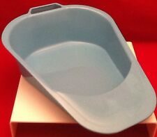 LOT OF 6 VOLLRATH PLASTIC BEDPAN AUTOCLAVABLE WARE 00081