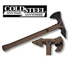 Cold Steel Trench Hawk 1055 Carbon Flat Dark Earth Polypropylene Handle 90pthf