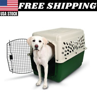 """CRATE LARGE DOG PET Portable Safe Travel Carrier Puppy Cat Cage Kennel Home 40"""""""