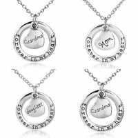 NEW Daddys Girl Script Pendant Silvertone Curb Chain Necklace Kids Teen Gift