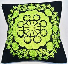Fine Indian Embroidered Cushion Covers - Lata
