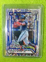 RONALD ACUNA JR CARD JERSEY #13 BRAVES /99 SP PRIZM REFRACTOR  2019 National VIP