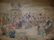 Very Beautiful Chinese Painting of Many Chinese Gods.