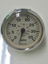 Faria Euro Beige Boat 35 MPH ELECTRIC Speedometer~Speedo~SE0503B~Pontoon