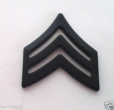 E5 SGT (SUBDUED) Military Veteran US ARMY RANK P14887 EE