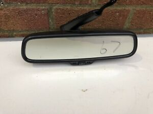 Audi A4 S4 B6 B7 Rear View Mirror In Black With Auto Dim