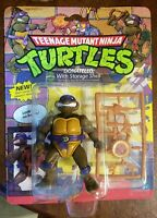 1990 Teenage Mutant Ninja Turtles Playmates Donatello Storage Shell MOC Sealed