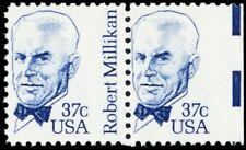 1866, Mint NH Misperforation Missing Inscription ERROR Pair -- Stuart Katz