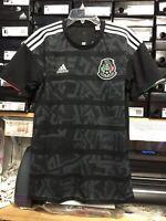 adidas mexico Black Jersey Playera De Mexico Negra 2019  Size Small Only Stadium
