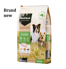 Black Hawk Grain Free Chicken Adult Dog Food 15kg- New & free shipping