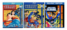 Justice League of America Season 1 2 + Unlimited Complete Series NEW BLU-RAY SET