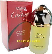 PASHA DE CARTIER BY CARTIER 3.3/3.4 oz./100ml EDT SPRAY FOR MEN NEW IN BOX