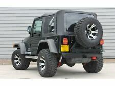 1997-2006 Jeep Wrangler TJ Replacement Black Soft Top and Rear Tinted Windows