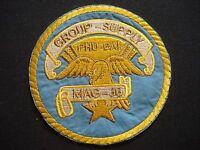 "USMC Marine Aircraft Group MAG-36 ""GROUP SUPPLY"" At PHU BAI Vietnam War Patch"