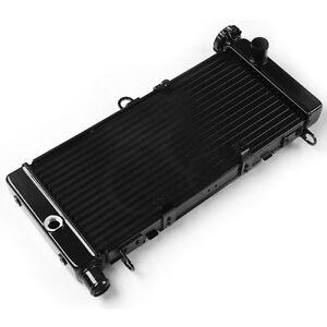 /06/kuehlerabdeckung protezione acqua di raffreddamento griglia griglia griglia radiatore di raffreddamento Protezione raffreddamento travestimento Black Logo Nero Honda CB 600/Hornet BJ 2003/