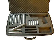 Deluxe Paintball Marker Case for Tippmann TiPX / TPX&SALT Pistol (10 tubes free)