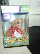 Kinectimals Now With Bears Limited Edition + FAO Bear Plush Xbox 360 Kinect New