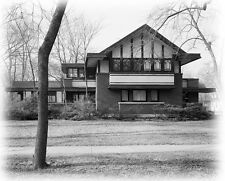 Prairie Style home by Walter Burley Griffin, architectural drawings