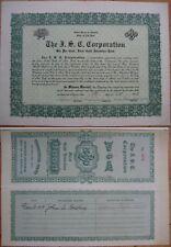 1919 Bond Certificate: John Roebling & Aj Drexel Biddle