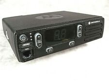 Motorola Cm200d Vhf Analog 45w Mobile Radio Withnew Accessories