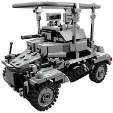 CUSTOM building INSTRUCTION WW2 Sd.Kfz 223 to build out of LEGO® parts