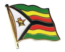 Simbabwe Flaggen Pin Fahnen Pins Fahnenpin Flaggenpin Anstecker