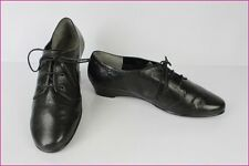 Derby shoes AEROSOLES Black Leather US 10 / EUR 8 / FR 42 VERY GOOD CONDITION