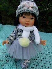 poupée asiatique réaliste lu 28cm de miguel llorens neuf 28034