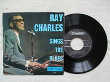 "45T 7"" RAY CHARLES ""Sings The Blues"" VISADISC VI 245 FRANCE §"