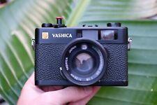 Yashica Electro 35CC Rangefinder camera Black - Street photography Amazing!