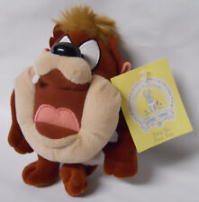 1999 Warner Bros Studio Store Baby Taz Mini Bean Bag-Beanie
