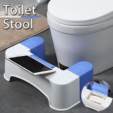 3 In1 Toilette Stuhl Toilettenhocker Toilettenhilfe  + Handy Halter + Papier Box