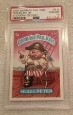 1985 Garbage Pail Kids #61B Pegleg Peter PSA 10
