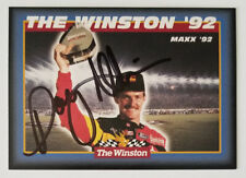 DAVEY ALLISON **AUTOGRAPHED** 1992 THE WINSTON ALL STAR WIN TRADING CARD #3