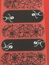 Jamberry Half Sheet - Dem Bones - Retired Skeleton and Webs