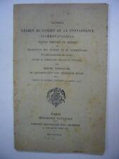 YAMAGUCHI DIGNAGA EXAMEN DE L'OBJET DE LA CONNAISSANCE 1919 GEUTHNER EO + EAS