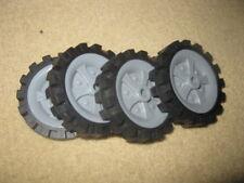 "4 K'Nex Knex Wheels 2.5"""