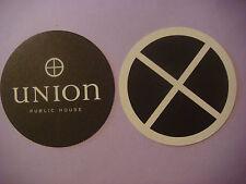 Beer Bar Drink Coaster ~ UNION Public House ~ Clever Libations, Food ~ Tucson AZ