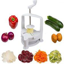 Brieftons Vertico Spiralizer: Vegetable Spiral Slicer Fresh Veggie Spaghetti