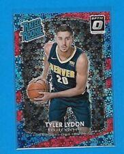 2017-18 Donruss Optic Fast Break TYLER LYDON Red Holo Prizm Rookie card /85