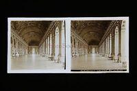 Versailles Francia Targa Di Vetro Stereo Pos. Verso 1920