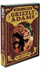 Grizzly Adams The Complete Series - 8 Disc Set (region 1 DVD Good) 826663