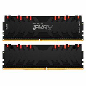 "KIT MEMORIA RAM KINGSTON FURY RENEGADE RGB 32GB(2x16GB) ""DUAL RANK"" 3600MHz CL16"