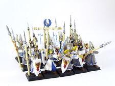 15 x Speerträger der Hochelfen / Warhammer Fantasy - bemalt -
