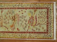 Vintage Gorgeous Turkish Anatolian Ushak Oushak Rug Size 2'3''x4'